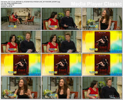 Maggie Q @ Access Hollywood Live with Kit Hoover