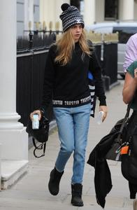 Cara Delevingne Out in London 07-08-2014