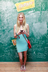 Whitney Port stopped by the Fruttare Hangout at Coachella - April 12, 2013