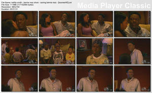 "KELLITA SMITH - ""Bernie Mac Show: Saving Bernie Mac"" - *tight night-shirt in bed*"
