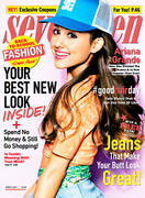 Ariana Grande - Seventeen Magazine August 2013