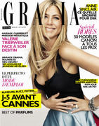 Jennifer Aniston  - Grazia Magazine May 2012