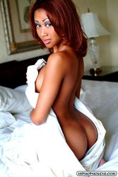 Michelle Cortez aka Essence Sade - Nude In Bed: image 6