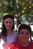 "Summer Glau - TwitPic on the set of ""Helping for the Holidays"" - Aug 14, 2012"