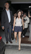 Shiri Appleby- Leggy Leaving Il Sole in West Hollywood 08/23/11- 7 HQ